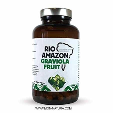 graviola cápsulas río amazón