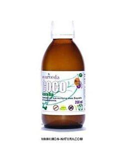 aceite de coco puro bio ayúrveda auténtico