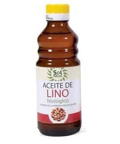 aceite de lino sol natural