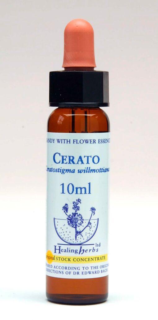 Cerato Flor de Bach Healing Herbs