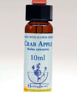 Crab Apple Flor de Bach Healing Herbs