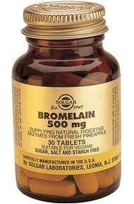 Bromelina 500 mg Comprimidos Solgar