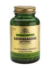 Ashwagandha Cápsulas vegetales Solgar