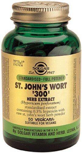 Hipérico 300 mg Extracto Solgar