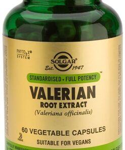 Valeriana Extracto de raíz Solgar