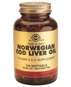Aceite de Hígado de Bacalao Solgar