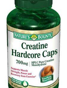 Creatina 700 mg - Nature's Bounty - 120 cápsulas