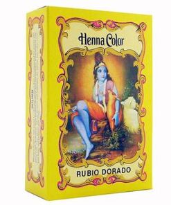 Henna rubio dorado