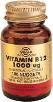 Vitamina B12 1000 μg (Cianocobalamina) Comprimidos masticables