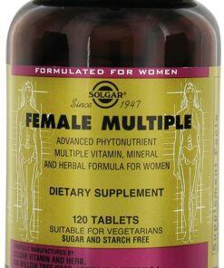Female Múltiple Comprimidos Solgar