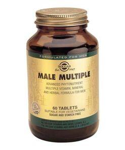 Comprar vitaminas para el hombre | Venta online vitaminas para el hombre | Male Multiple Comprimidos Solgar |