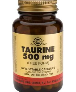 Taurina 500 mg Solgar