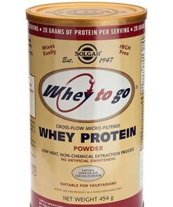 Whey To Go® Proteína de suero en polvo (Sabor de chocolate) Solgar