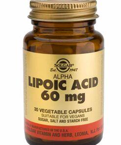 comprar acido alfa lipoico solgar