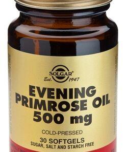 Aceite Primula De Rosa 500 mg. 30 comprimidos de Solgar