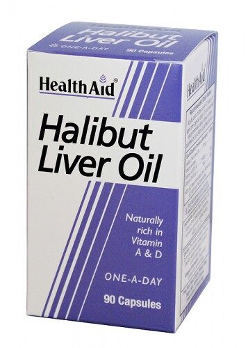 Aceite de hígado de halibut de HealthAid