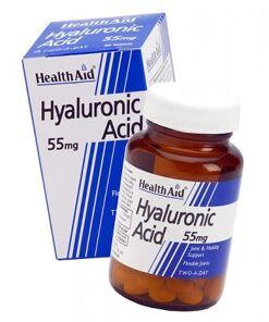 Ácido hialurónico 55 mg de HealthAid