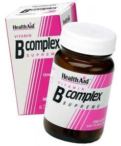 Complejo B de HealthAid 30 cápsulas