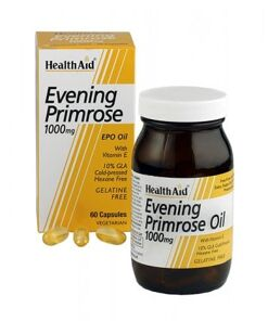 Aceite de onagra 1.000 mg. Con vitamina E de HealthAid