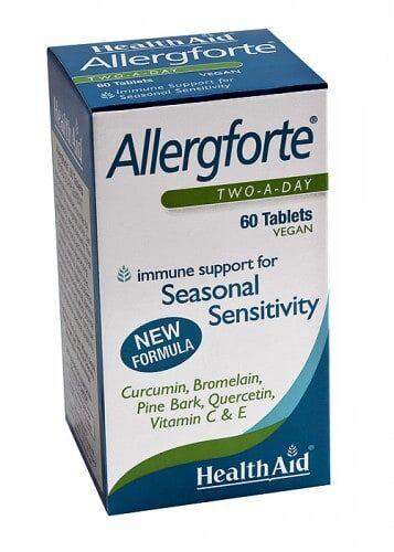 Allergforte ® Nueva formulación de HealthAid