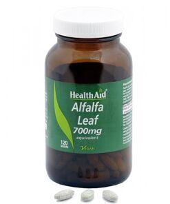 Alfalfa hoja (Medicagosativa).mgdepolvocrudodeHealthAid