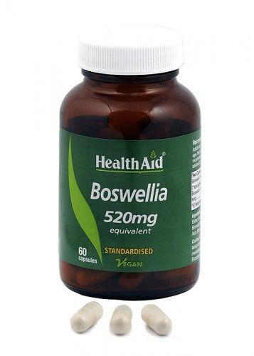 Boswelia -resina- (Boswellia serrata). Ext. estandarizado + polvo de HealthAid