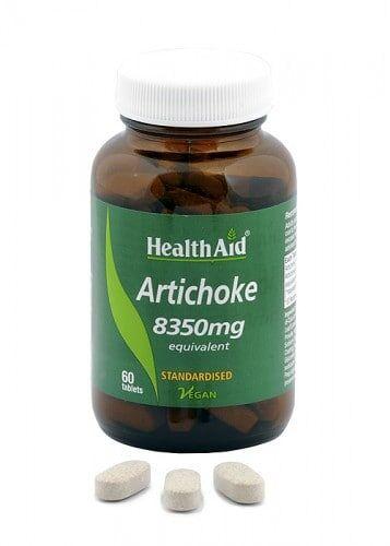 Alcachofera -hoja- (Cynara scolymus) . Ext. estandarizado + polvo de HealthAid