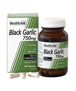 Ajo negro 750 mg (rico en S-alilcisteína) - Sin olor. de HealthAid