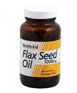 Aceite de linaza 1.000 mg de HealthAid