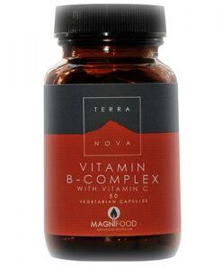 B-Complex con Vitamina C de Terranova