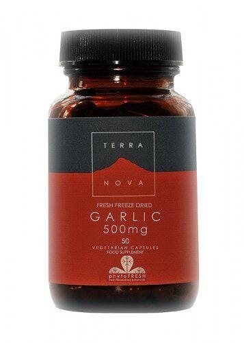 Ajo 500 mg (AI/ium sativum) de Terranova