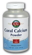 Coral calcium 225 gr solaray