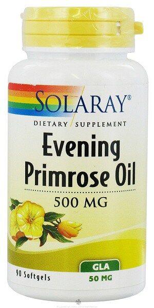 Evening primrose oil solaray