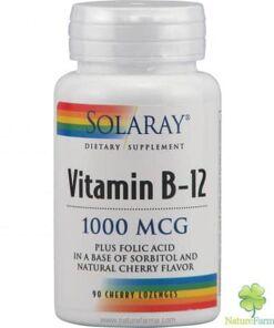 Solaray vitamina b12 1000 mcg solaray