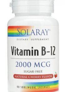 Solaray vitamina b12 2000 mcg solaray
