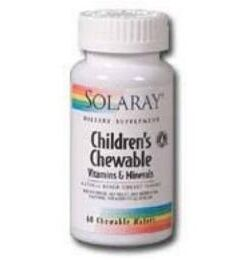 Children's chewable solaray