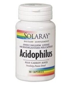 Acidophilus plus solaray