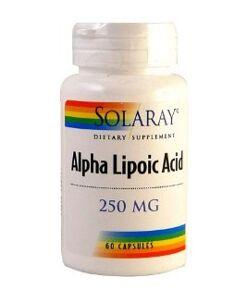 Ácido alfa lipoico solaray