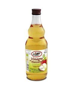 Vinagre de manzana ecológico 0,75 cl el granero