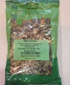 Castaña de indias 100 gr plameca