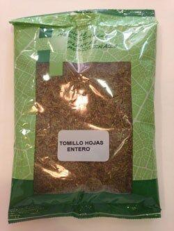 Tomillo hojas 100 gr plameca