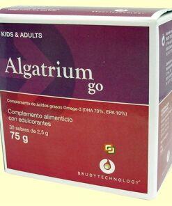 Algatrium go 30 sobres - niños y adultos solaray