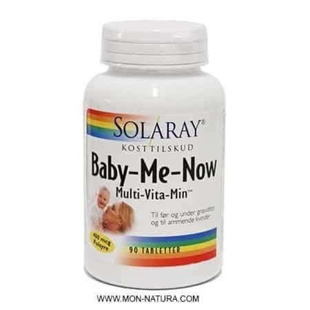 baby me now solaray