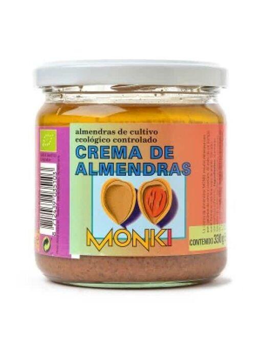 crema de almendras monki