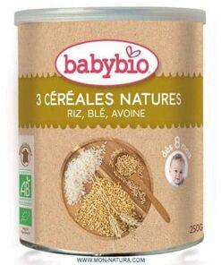3 cereales nature babybio comprar