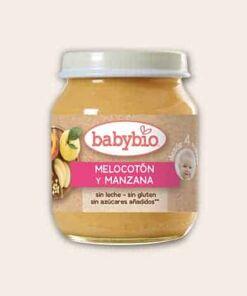 Babybio melocoton manzana 130g