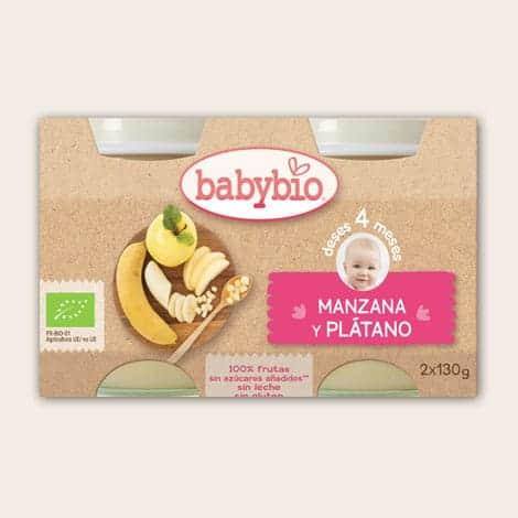 Babybio manzana-platano