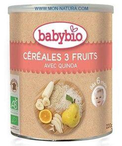 cereales 3 frutas babybio comprar