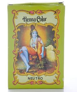 Henna Color Neutro Polvo