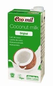 Leche de coco Bio 1 L EcoMil
